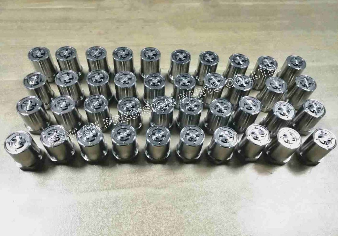 50-52HRC Hardness Plastic Mould Parts Mold Cavity Pins Components With EDM